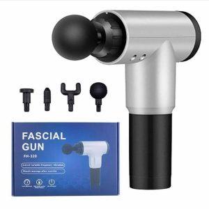 Masazher multifunksioanal për fizioterapi në familje - Fascial Gun
