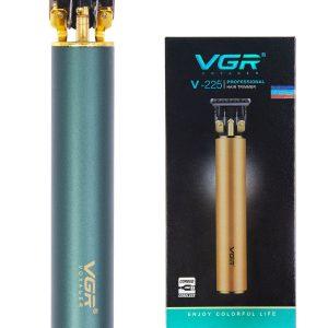 Maqinë profesionale e qethjes/rruajtjes VGR 225, me bateri rimbushëse, qethu me 0 nivel