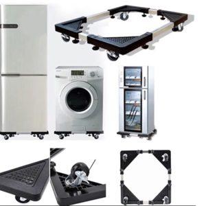 Bazë për lëvizjen e pajisjeve të rënda shtëpiake të teknikës së bardhë