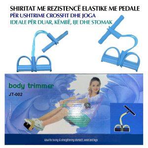 Shirita me rezistencë elastike me pedale për ushtrime crossfit dhe joga