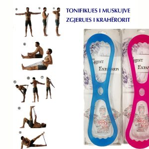 Tonifikues i muskulaturës dhe zgjerues i krahërorit. 9 Ushtrime për M/F në 1 Vegël