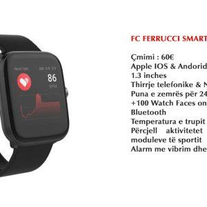 Ferrucci Smart Watch - Black 19S.01
